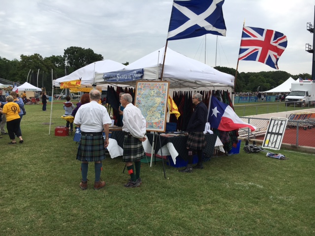 The Society's tent at the 2016 TSF in Arlington.